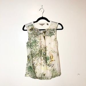 TED BAKER LONDON Just for You Sleeveless Top Sz 1
